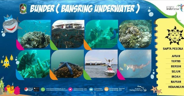 Bangsring Underwater Pesona Indonesia