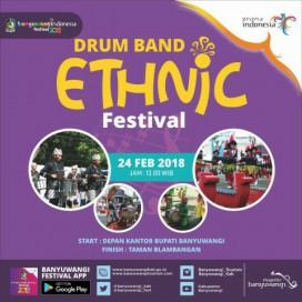 Festival Banyuwangi 2018 Drum Band