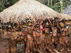 Anak-anak Kampung Primitif Wisata Jajag Banyuwangi