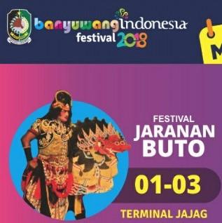Festival Jaranan Buto Banyuwangi 2018