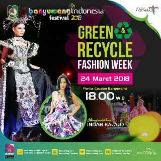Festival Green Recycle Fashion Week 2018