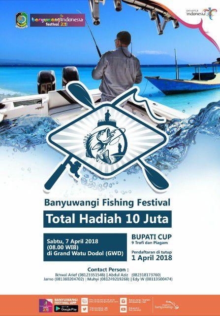 Fishing Festival Banyuwangi 2018
