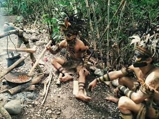 Orang Kampung Primitif Wisata Jajag Banyuwangi