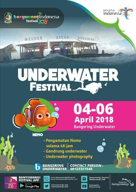 Underwater Festival Banyuwangi 2018