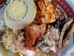 Sego Cawuk - Kuliner Khas Banyuwangi