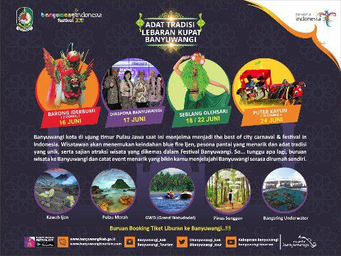 Daftar Banyuwangi Festival Lebaran 2018