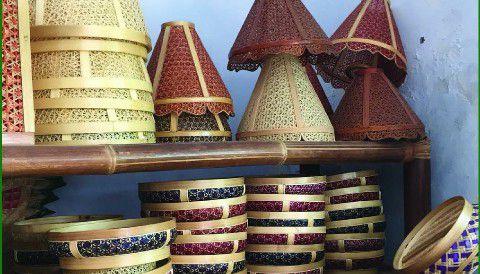 Souvenir Khas Banyuwangi - Anyaman Bambu