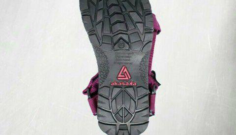 Teksur Sandal - Tips Mendaki Kawah Ijen