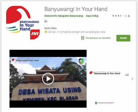 Pariwisata Banyuwangi Aplikasi in Your Hand