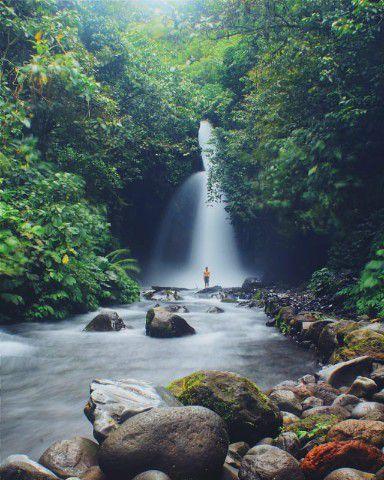 Wisata Banyuwangi Air Terjun Telunjuk Raung