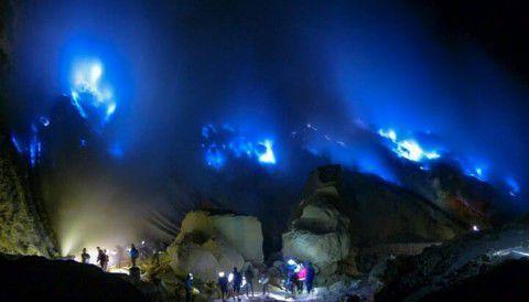 Blue Fire - Wisata Banyuwangi Api Biru