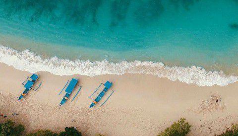 Boat Perahu - Wisata Teluk Hijau Banyuwangi