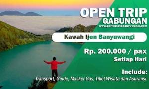 Open Trip kawah Ijen Banyuwangi Murah