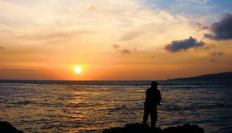 Sunrise Mancing - Pantai GWD Banyuwangi