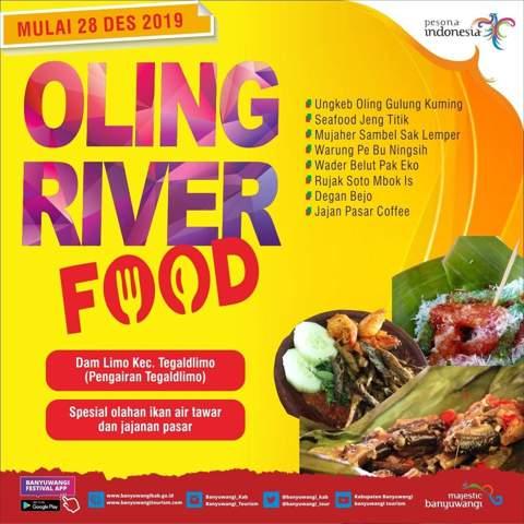 Pasar Tradisional Banyuwangi - Oling River Food Tegaldlimo