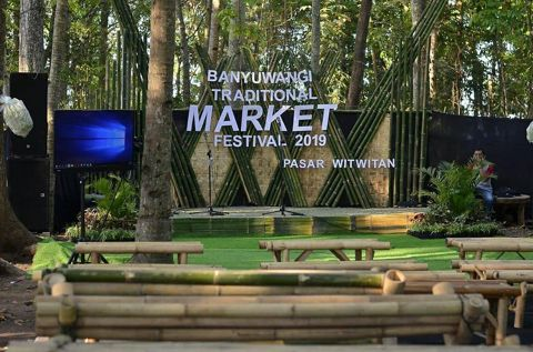 Pasar Tradisional Banyuwangi - Pasar Witwitan Alasmalang Singojuruh