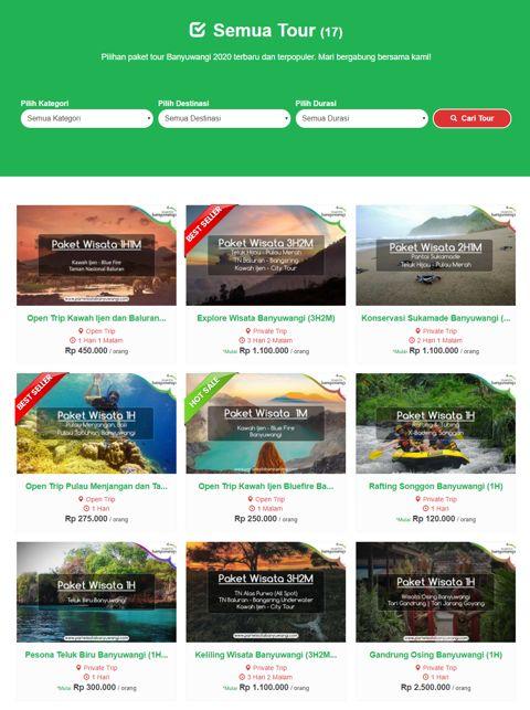 Paket Wisata Banyuwangi Murah