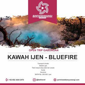 Open trip Banyuwangi Kawah Ijen