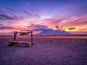 Sunset di Banyuwangi - Baluran