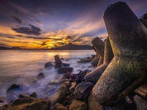 Sunset di Banyuwangi - Pantai Mustika