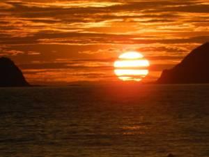 Sunset di Banyuwangi - Pulau Merah