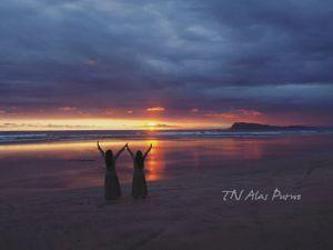 paket wisata alas purwo banyuwangi Sunset Trianggulasri